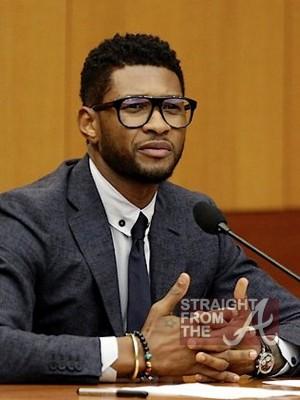 Usher Tameka Court StraightFromTheA 052212 - 3