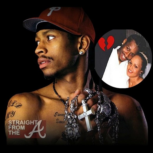 Allen Iverson Wants Estranged Wife Jailed After She ...