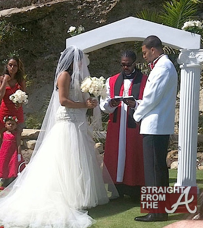 Bad Club Member Natalie Nunn Ties The Knot For Tv Photos