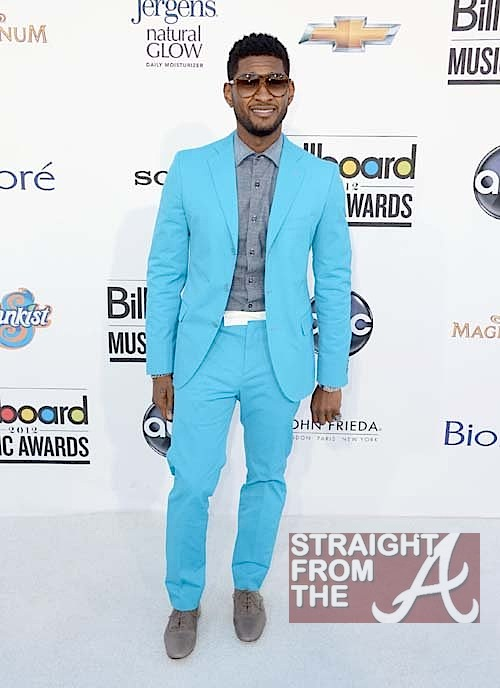 Hot or Not? Usher Raymond's Baby Blue Billboard Awards Suit   ...
