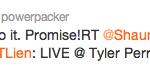 will packer tweet