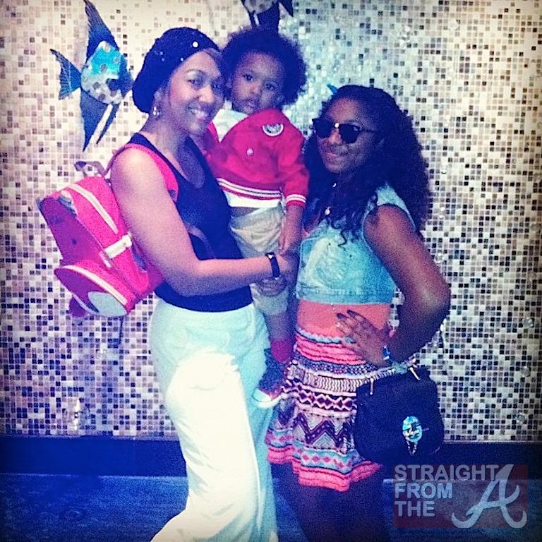 Joi Pearson Reginae Carter Ayden 2nd Birthday StraightFromTheA 3