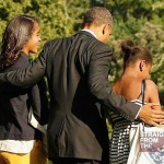 Barack Obama Malia Sasha
