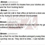 Chris Brown Tweets StraightFromTheA