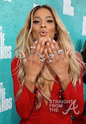 Ciara 2012 MTV Movie Awards-2
