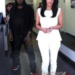Kim Kardashian Kanye West 062812-8