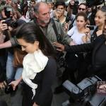 Kanye Kim Kardashian in Paris 070312-12