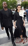 Kanye Kim Kardashian in Paris 070312-9