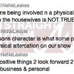 RUMOR CONTROL: Nene Leakes Says Talks of Physical Altercation & Termination Are NOT TRUE…