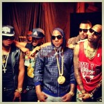 "Quick Flix – Jeezy Joins E-40, Chris Brown, Big Sean & French Montana for ""Function"" (remix) video shoot…"