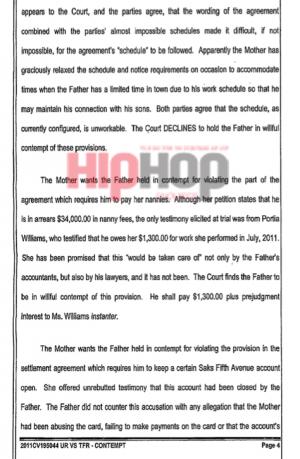 usher raymond v. tameka raymond court doucment 4