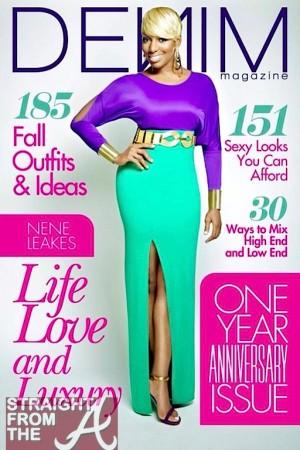 nene leakes denim magazine cover