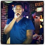 SPOTTED: Usher Mourns Step Son's Death In Karaoke Bar… [PHOTOS + VIDEO]
