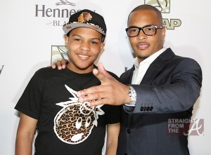 T.I. and son Messiah