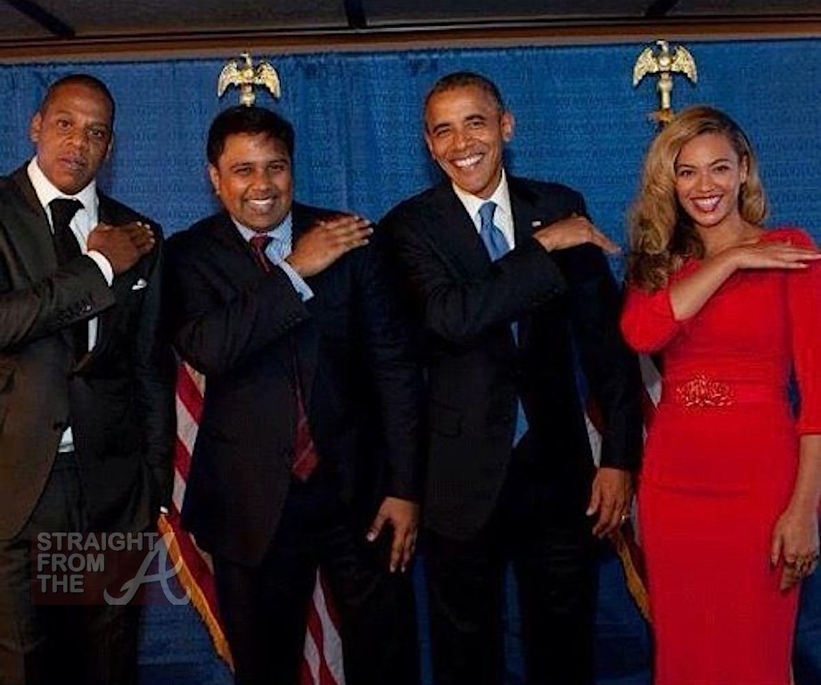Jay-Z & Beyonce Host Presidential Fundraiser + President ... Obama And Beyonce