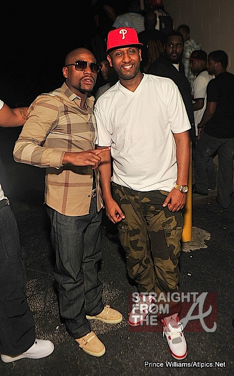 Floyd Mayweather And Alex Gidewon Straight From The A