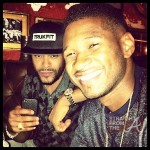 Usher & friend