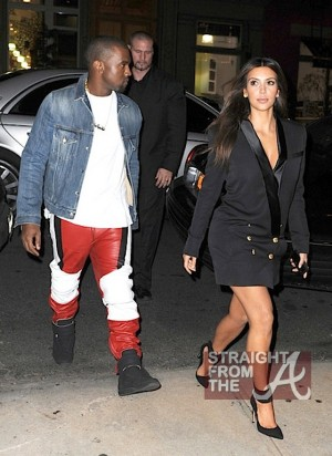 kanye west kim kardashion fashion week 4