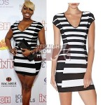 nene-leakess-5th-annual-2012-icons-idols-party-herve-leger-geometric-jacquard-bandage-dress