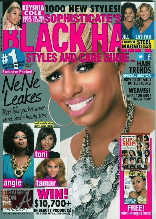 Nene Leakes Shares Beauty Secrets In Sophisticate's Black