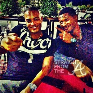 usher and t.i.