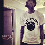 Chris Brown Celeb Bball Game SFTA-4