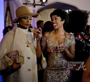 Cynthia-Bailey-and-Porsha-Stewart-Don-Fabulous-Costumes-at-a-Party