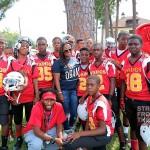 Keshia_youth football game