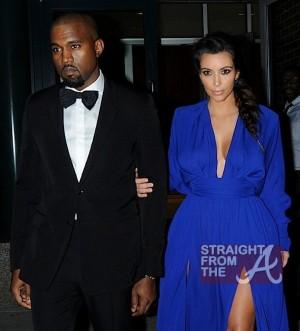 Kim Kardashian Kanye West 102212-1