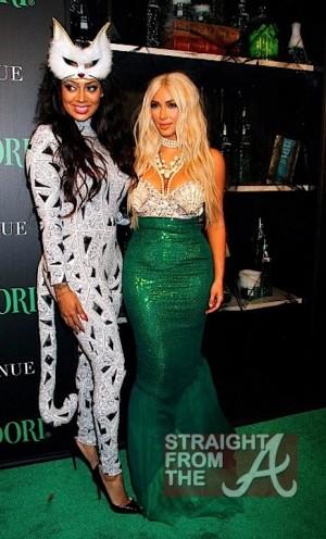 Lala Vasquez and Kim Kardashian