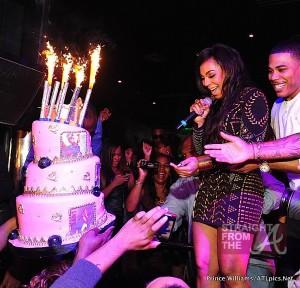 Nelly Ashanti Birthday Cake Reign