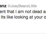 Joe Little Tweet