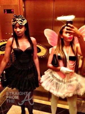 angela simmons-halloween 2012