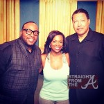 Marvin Sapp Kandi Burrus and her father
