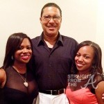 kandi burrus with father and sister