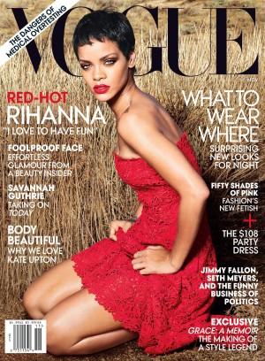 rihanna vogue cover November 2012