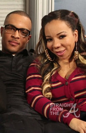 T.I. and Tameka Tiny Cottle Harris