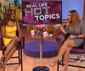 Kenya Moore Wendy Williams Show SFTA 1