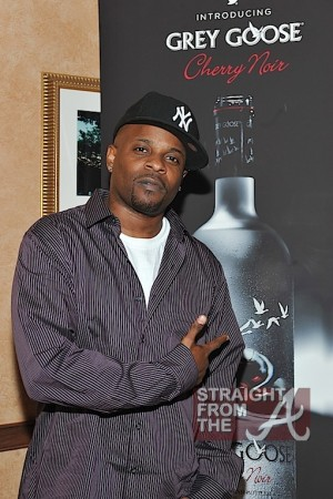 R&B singer Case at the GREY GOOSE Cherry Noir VIP Bar at the Trey Songz Chapter V Tour - Atlanta