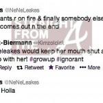 Nene Kim Tweets RHOA 5