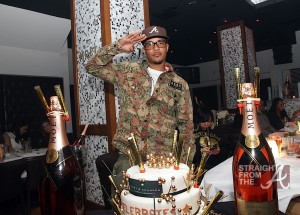 T.I. and Moet Rose Lounge Miami Cake 3