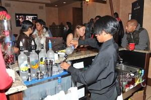 The GREY GOOSE Cherry Noir VIP Bar at the Trey Songz Chapter V Tour - Atlanta