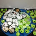 Usher Cinco Cake 2