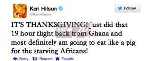 hilson-tweet fake
