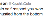 keyshia cole tweet