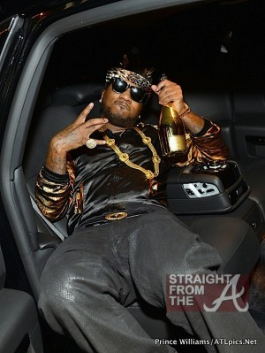 Jeezy Car Ace of Spades 1