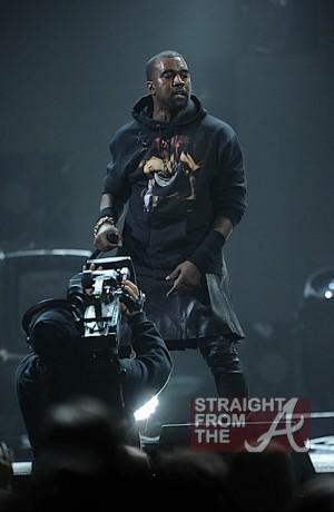 Kanye West Leather Skirt 121212 1