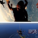 """Fearless"" Fool or Foolish Father? Usher Skydives in Dubai… [PHOTOS]"