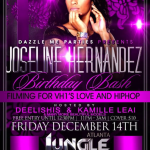 joseline hernandez birthday flyer