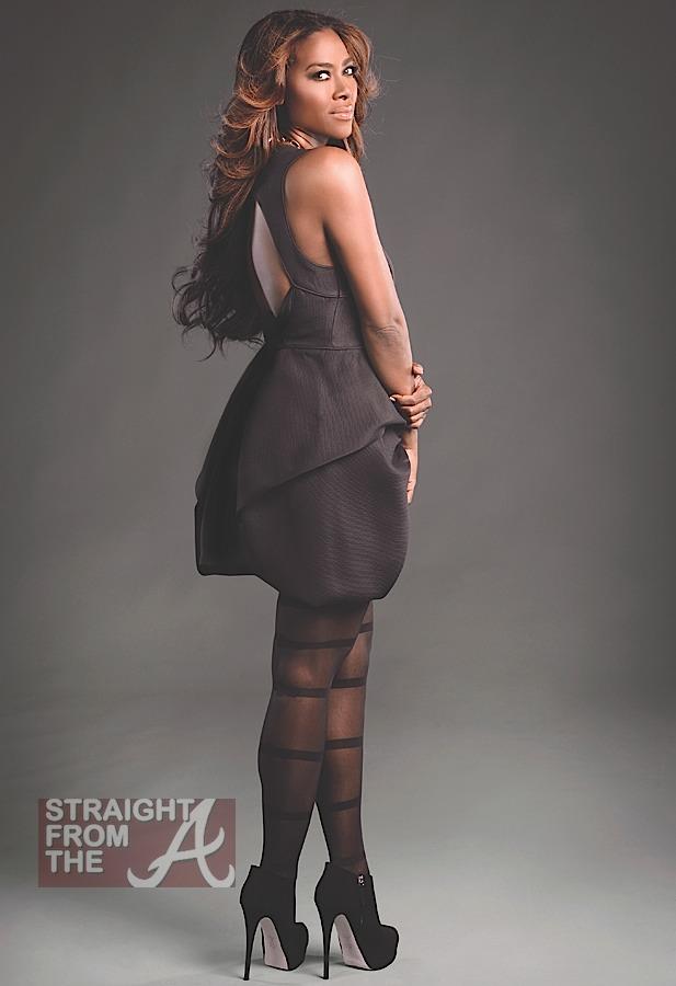 Rhoa Kenya Moore Does Hype Hair Photos